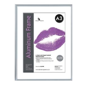 Bilderrahmen Superior ALA3-SV, für DIN A3, aluminum