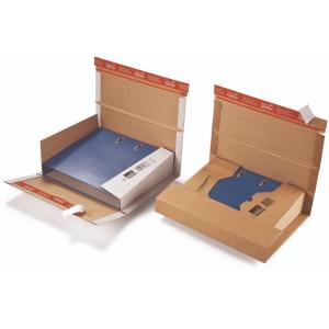 Versandkarton Colompac CP 055.51, A4, Größe: 35 - 80 mm, weiß