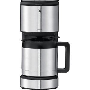 Kaffeemaschine WMF Stelio Aroma, Thermo, silber/schwarz, für 8 Tassen