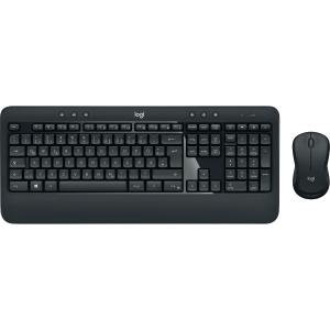 Tastatur-Set Logitech MK540, mit Maus, kabellos, schwarz