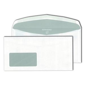 Kuvertierumschläge Mayer 30007488 C6/5 114x229mm mit Fenster NK weiß 1000St