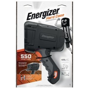 Taschenlampe Energizer Hardcase Hybrid Pro Spotlight, Akku, 500 Lumen, gr/swz