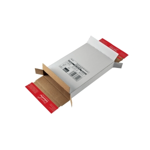 Versandkarton Colompac CP065.56, Innenmaße: 244 x 344 x 45 mm, weiß, 20 Stück