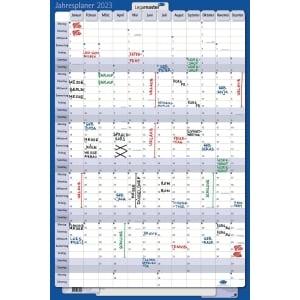 Jahresplaner 2019 Legamaster 4212, 12 Monate / 1 Seite, 60x90cm, inkl. Zubehör