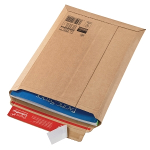 Versandtasche Colompac CP10.09 Wellpappe, Außenmaße: 570x420x25mm, braun