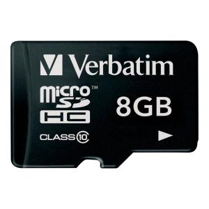 Micro SDHC-Card Verbatim 44012, Class 10, 8 GB