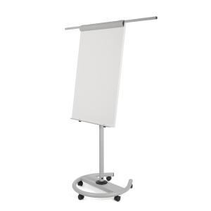 Flipchart Bi-Office EA4806146 Earth-It, Maße: 100 x 70cm, silber/swz
