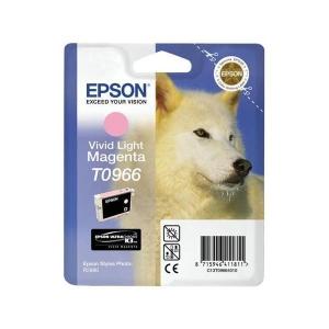 Tintenpatrone Epson T09664010, Inhalt: 11,4ml, vivid light magenta