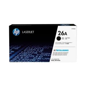Toner HP CF226A, Reichweite: 3.100 Seiten, schwarz