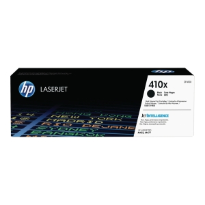 Toner HP CF410X, Reichweite: 6.500 Seiten, schwarz