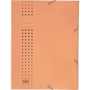 Eckspanner Elba 33470, A4, aus Karton, Fassungsvermögen: 150 Blatt, gelb