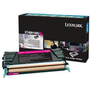 Rückgabe Toner Lexmark X748H1MG, Reichweite: 10.000 Seiten, magenta