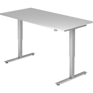 Schreibtisch VXMST16/5/S, höhenverstellbar, Größe: 160 x 80, grau
