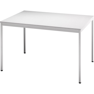 Konferenztisch Hammerbacher VVS12/5, Größe: 120 x 80 cm (L x B), grau