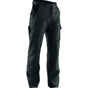 Arbeitshose Kübler IDENTIQ COTTON 2044, Größe: 52, 6 Taschen, anthrazit/schwarz