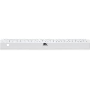 Lineal M+R 710300000, aus Plastik, Länge: 30cm