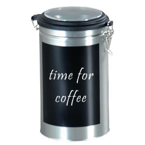 Kaffeedose Metall 729557, leer, beschriftbar, für 500g