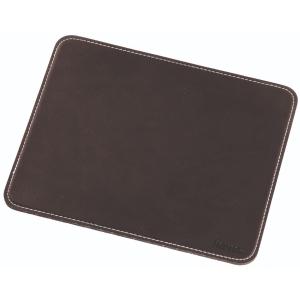 Mauspad Hama 54745, 220 x 180 x 3mm, rutschfest, lederoptik, schwarz