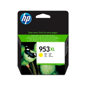 Tintenpatrone HP FU18AE - 953XL, Reichweite: 1.600 Seiten, gelb
