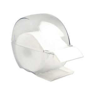 Zellstofftupfer Spender 9369999 Jolifin, transparent