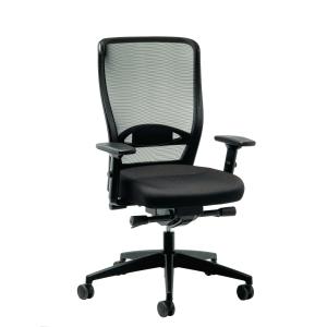 Bürostuhl Prosedia Younico 3476, hohe Rückenlehne, schwarz