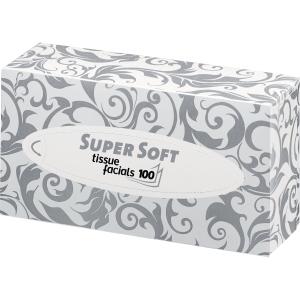 Kosmetiktücher Wepa 206035, 2-lagig, 200 x 200 mm (B x H), 100 Tücher