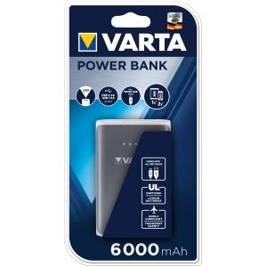 USB Ladegerät Varta 57960101401, 1 Ladeanschluss. 6000 mAh