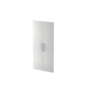 Holzschranktür V410T-W, Größe: 188cm, weiß