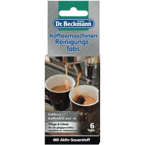 Reinigungstabs Dr.Beckmann zur Entfernung hartnäckiger Ablagerungen, 6 Stück