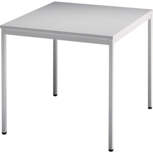 Konferenztisch VVS08/5, Größe: 80 x 80 cm (L x B), grau Desktopservice
