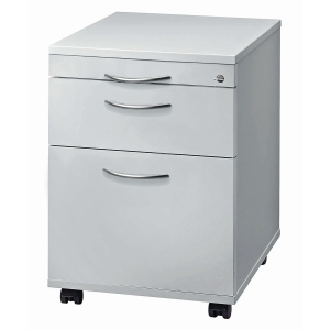 Rollcontainer VAC20-5-5, Registratur, Größe: 59x42,8x58 cm, grau, Montageservi.