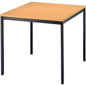 Konferenztisch VVS08/6, Größe: 80 x 80 cm (L x B), buche Montageservice