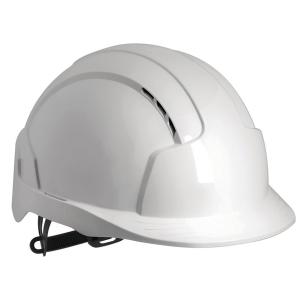 JSP Evolite Safety Helmet Slip Ratchet Wh