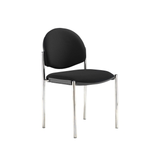 Coda Multi Purpose Stacking Chair Black