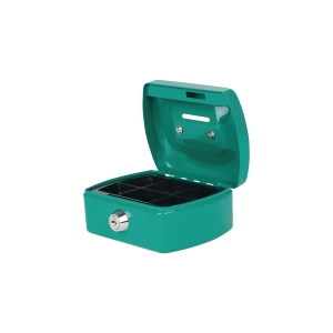 PAVO 8007394 CASH BOX STEEL GREEN