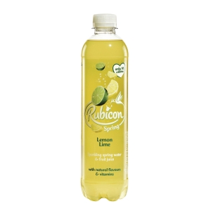RUBICON SPRING LEMON & LIME 500ML - PACK OF 12