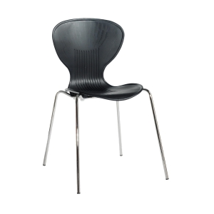 SIENNA BLACK DINING CHAIR - PACK OF 4