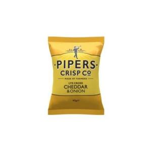 PIPER CRISPS 401088 CHEDDAR&ONION 40G