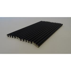 Black Paper Straws - Pack of 250