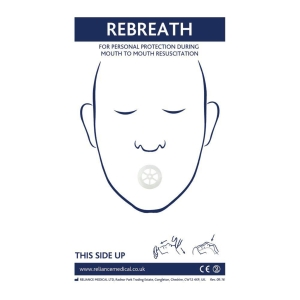 Rebreathe Resuscitation DeviCE With Value