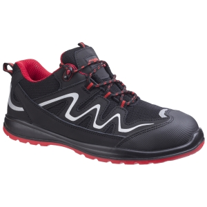 Footsure FS312 S3 Safety Shoe Size 43 Black & Red