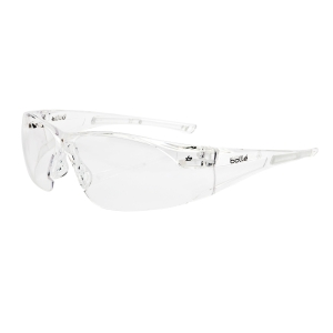 Bolle Rush Safety Spectacles Clear Lens