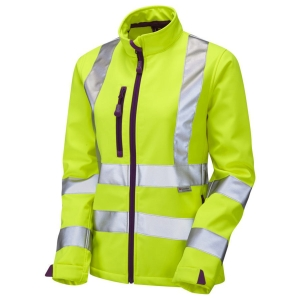 Leo SJL01 Ladies High-Vis Jacket Yellow Size Small