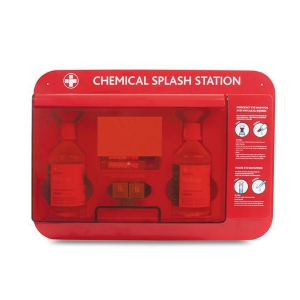 Deluxe Chemical Splash Station In Red Box