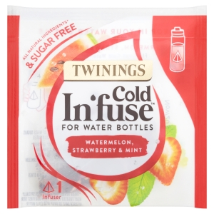 TWININGS COLD INFUSE WATERMELON, MINT AND STRAWBERRY INFUSE - PACK OF 100