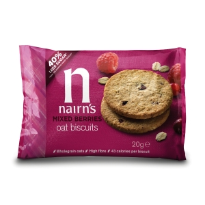 NAIRN 40% LESS SUGAR BISCUITS- BOX OF 96