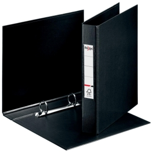 Rexel Choices A4 Ring Binder, 25mm Spine, 2 O-Ring, Black
