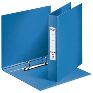 Rexel Choices A4 Ring Binder, 25mm Spine, 2 O-Ring, Blue