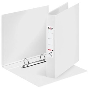 Rexel Choices A4 Ring Binder, 25mm Spine, 2 O-Ring, White