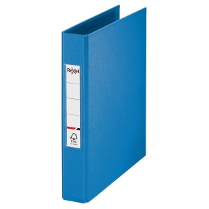 Rexel Choices A5 Ring Binder, 25mm Spine, 2 O-Ring, Blue